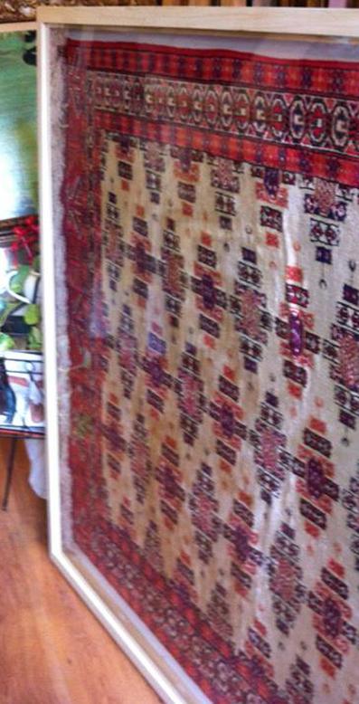 שטיח במסגרת